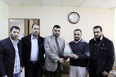 د. القدرة يثمن حملة إبداع التطوعية داخل مستشفيات قطاع غزة