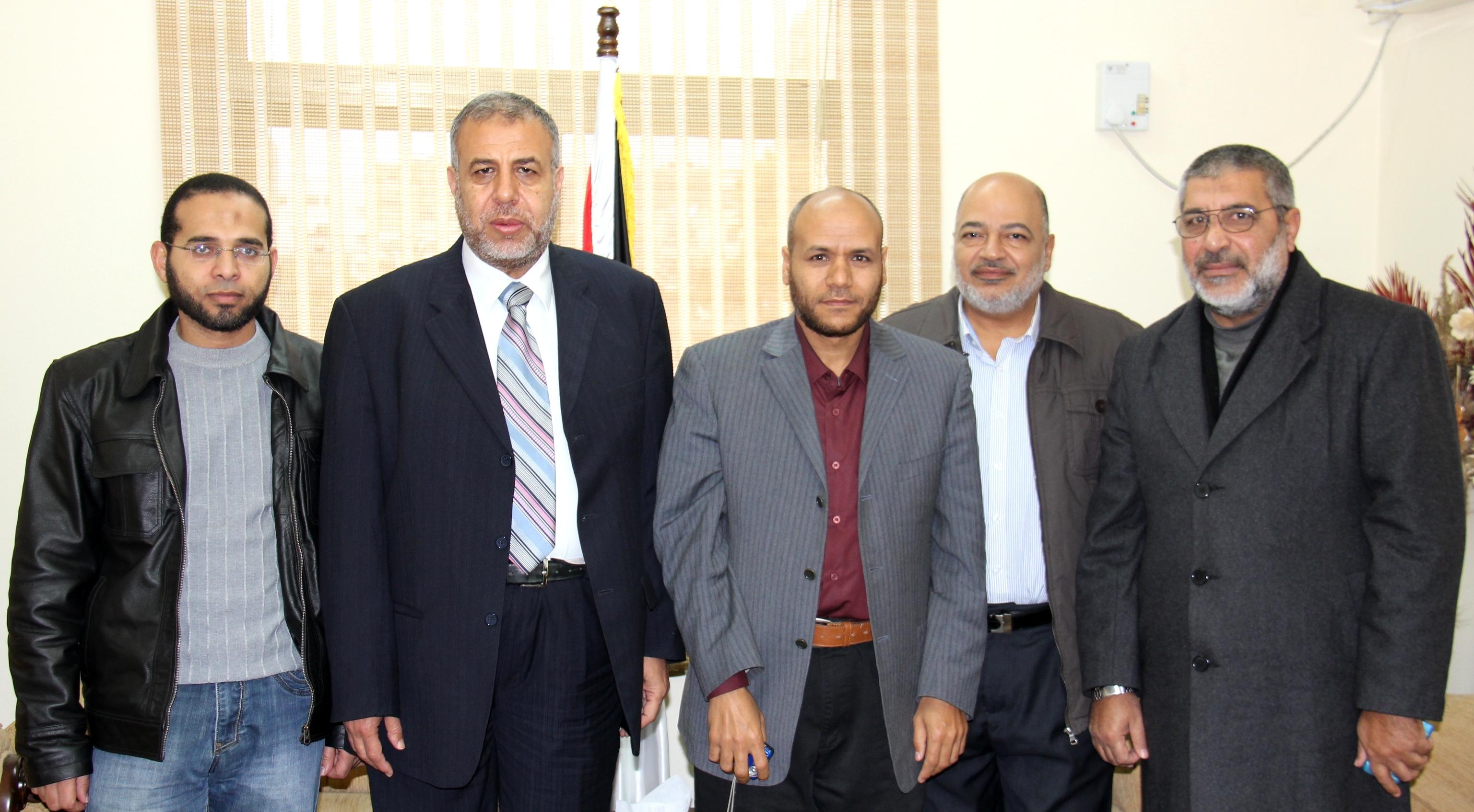 الصحة :الوزير المخللاتي يستقبل وفد من الندوة العالمية للشباب الإسلامي