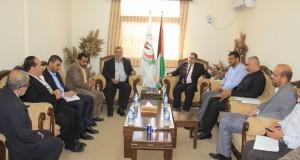 دعا إلى إنشاء معهد طبي شرعي .. د. نعيم يوصي بتشكيل لجنة تختص بمتابعة الملف الشرعي في قطاع غزة