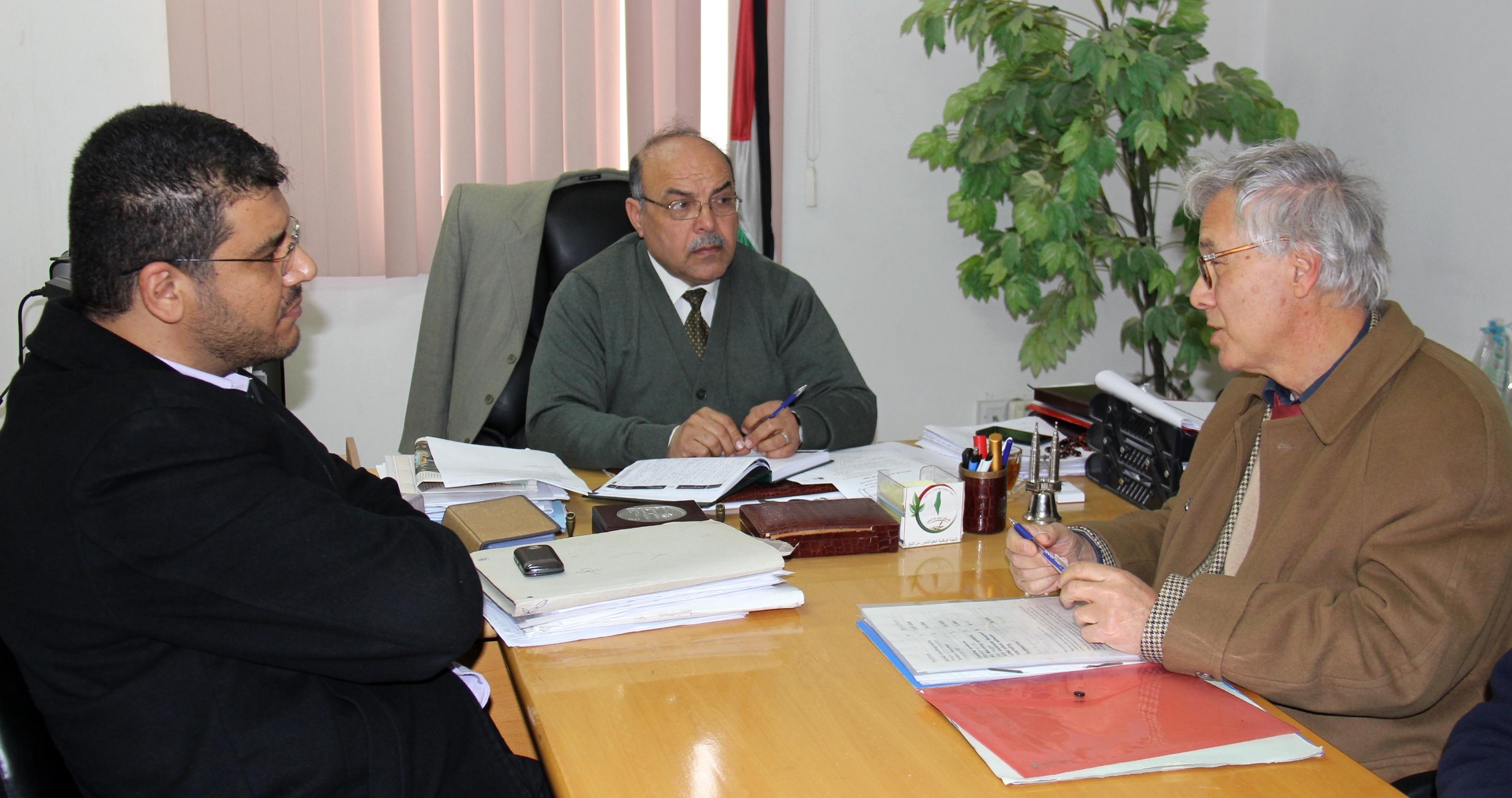 الصحة تبحث مع أخصائي ايطالي تنفيذ مشروع برنامج جراحة قلب الأطفال في مستشفى غزة الأوروبي