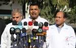 خلال مؤتمر صحفي.. الوضع الصحي في قطاع غزة يحتاج الى حاضنة حكومية و دعما مؤسساتياً عاجلا