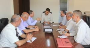 خلال اجتماعه بوفد من نقابة المهن الطبية..  د. أبو الريش يوصي بتسهيل الخدمات المقدمة  للمواطنين