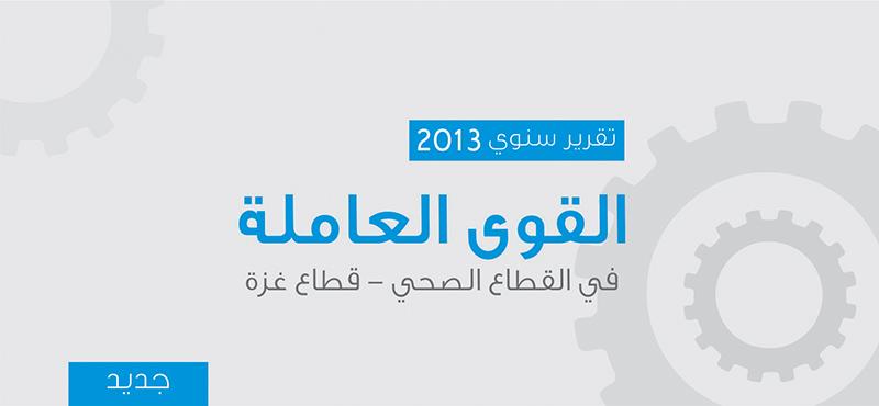 التقرير السنوي للقوى العاملة للعام 2013