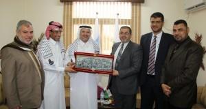 وزارة الصحة تكرم الوفد الطبي القطري لزراعة القوقعة