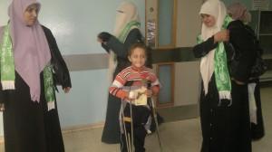 مستشفى الأوروبي يستقبل وفدا طالبات