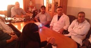لتوضيح الية عمل الحوسبة في الصيدلية .. مدير م.أبو يوسف النجار يجتمع بطاقم الصيادلة