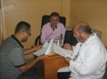 مكافحة العدوى والخدمات الفندقية يتفقدان أوضاع النظافة بمستشفى العيون