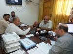إدارة مستشفى شهداء الأقصى تزور شركة كهرباء الوسطى