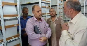 الادارة العامة للمستشفيات تتفقد الأوضاع في مستشفى ناصر والأوروبي