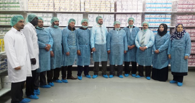 د. البرش يشيد  بصناعة الأدوية في فلسطين ويعتبرها  فخر للإنسان الفلسطيني