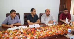 د. نعيم يشيد بإنجازات الإدارة العامة للشئون الإدارية