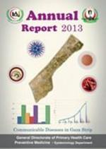 الإدارة العامة للرعاية الصحية الأولية تصدر التقرير السنوي للأمراض المعدية 2013 في قطاع غزة
