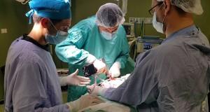 قسم جراحة الصدر بمجمع الشفاء يجري عملية نادرة لاستئصال ورم في اللوحة اليسرى لفتاة