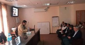 مستشفى شهداء الأقصى تنظم محاضرة علمية حول كسور الحوض