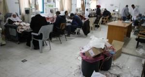 الأطباء يعلنون الاضراب وتوقف الخدمات الصحية بسبب أزمة النظافة في المشافي والمراكز الصحية بغزة