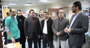 خلال جولة ليلية… وكيل وزارة الصحة يزور مستشفى النصر للأطفال ويثمن جهود العاملين فيه