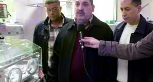 نجاح عملية نادرة لاستئصال بروز في الدماغ لجنين حديث الولادة في غزة