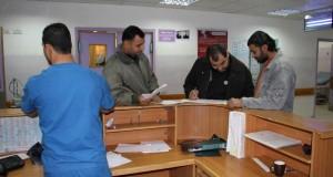 قسم استقبال الباطنة بمجمع الشفاء الطبي . . مرضى كثر وخدمات طبية مثقلة