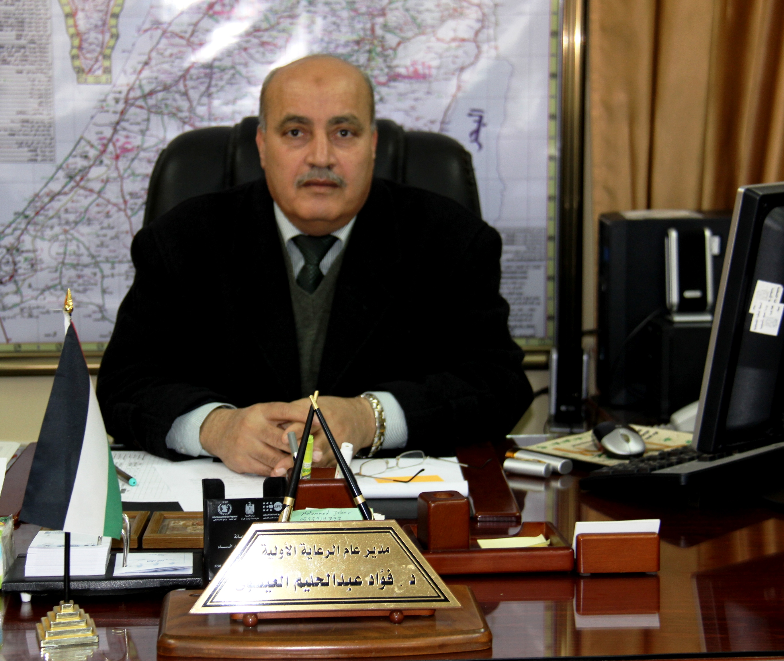 """الصحة"""" د. العيسوي يطمئن المواطنين في محافظات غزة من انفلونزا H1N1"""