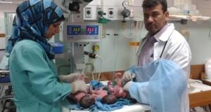 مركز المعلومات الصحية الفلسطيني : معدل المواليد خلال العام المنصرم هو الأعلى مقارنة مع السنوات الخمسة الماضية