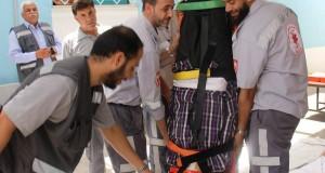 وحدة الاسعاف والطوارئ بوزارة الصحة تنظم دورة عملية لضباط الوحدة