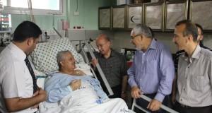 إدارة مجمع الشفاء الطبي تهنئ الأستاذ/ زهير نوفل مدير تمريض دائرة المستشفيات بمناسبة الشفاء