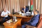 وزارة الصحة تستقبل وفداً من وزارة الداخلية