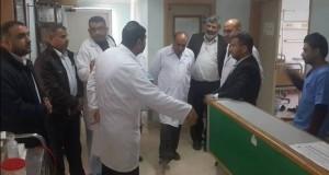 إدارة مستشفى الأوروبي تتفقد مركز الأورام ضمن الجولة الإدارية