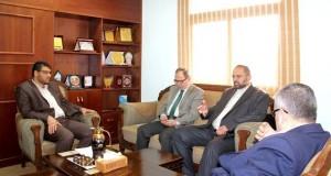 الصحة تبحث مسودة اتفاق تعاون بين الوزارة وبين بولتيكنك فلسطين