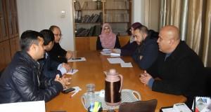 الادارة العامة للشئون القانونية بشأن الاستعداد لتنفيذ خطة عام 2018
