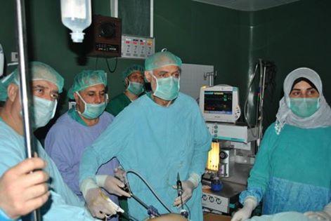 نقلة نوعية بجراحة المناظير في مستشفى الولادة بمجمع الشفاء الطبي