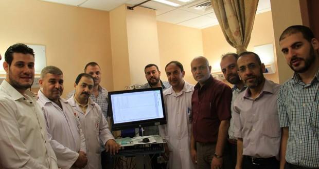 """الأول من نوعه على مستوي مستشفيات القطاع مجمع الشفاء الطبي يستحدث جهاز """" الدراسة الديناميكية للتبول"""""""