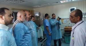 مستشفى الدرة يستقبل وفدا من الأمانة العامة لمجلس الوزراء