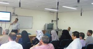 لجنة الملف الطبي الالكتروني تجتمع في المستشفى الأوروبي