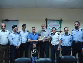 مستشفى بيت حانون يستقبل وفدا من مستشفى الدرة