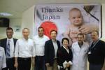 للإطلاع على المشاريع اليابانية .. السفير الياباني يتفقد قسم الحضانة بمجمع الشفاء الطبي
