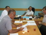 مستشفى العيون يجتمع بمجلس ادارته لتطوير العمل