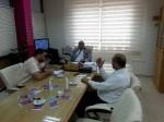 مستشفى الأقصى وبنك فلسطين يبحثان سبل التعاون المشترك