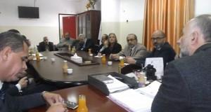"""مستشفى بيت حانون يعقد محاضرة بعنوان""""آليات الضبط الإداري"""""""