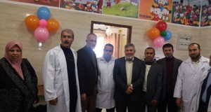 المستشفى الأندونيسي يشارك في حفل إفتتاح مجمع الشهيد كمال عدوان