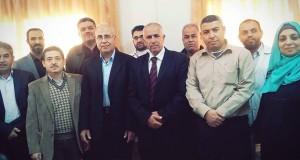 مستشفى بيت حانون يكرم مديره السابق د. بسام أبو وردة