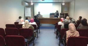 """مجمع الشفاء الطبي يعقد محاضرة علمية بعنوان """" عملية التطابق في نقل الدم"""""""