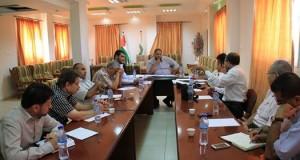 د. أبو الريش يشيد بعمل الطواقم العاملة بمجمع الشفاء الطبي