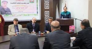 الإدارة العامة للشؤون المالية تكرِّم أ. أحمد أبو شنب بمناسبة انتهاء خدمته