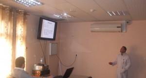 قسم التدريب والتطوير بشهداء الأقصى ينظم عدة محاضرات علمية