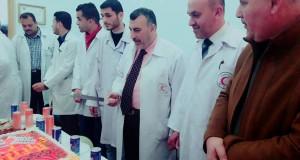 الأوروبي يحتفل بتخرج دفعة جديدة من طلبة المزاولة لأخصائي الطب المخبري