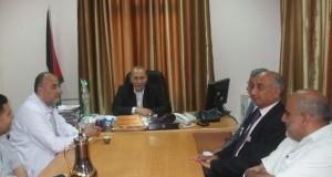 مستشفى شهداء الأقصى يستقبل وفدا من الجمعية الفلسطينية لمرضى السرطان