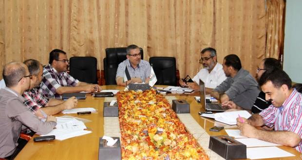 لجنة التمكين تعقد اجتماع لانجاز خطة الوزارة لعام 2016