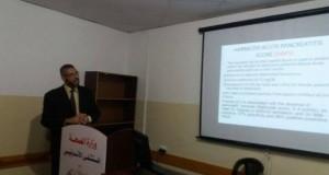 قسم الجراحة بالمستشفى الاندونيسي ينظم محاضرة حول التهاب البنكرياس الحاد