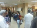 مستشفى شهداء الأٌقصى يستقبل وفد من الصليب الأحمر